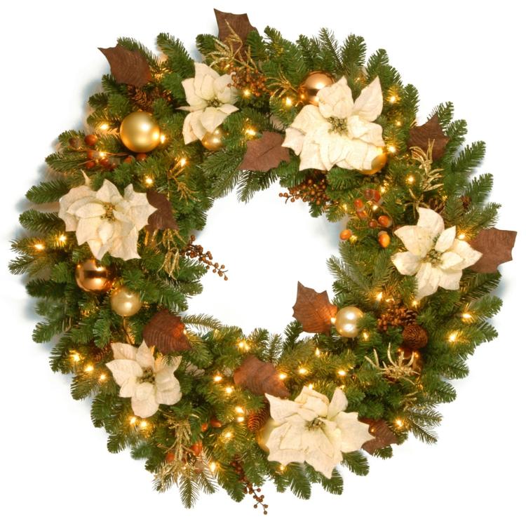 adventskranz selber basteln ideen diy projekte weihnachten - Diy Weihnachtsdeko Basteln