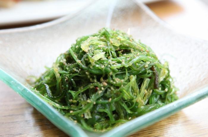 algen essen algen salat gesund lecker