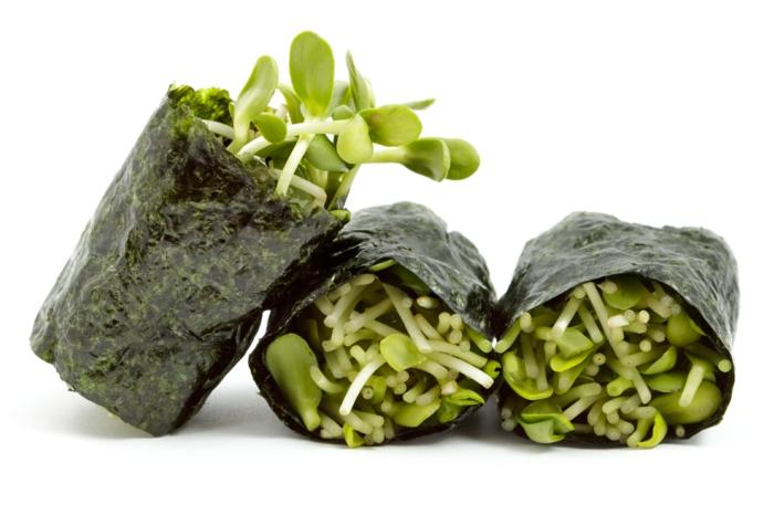 algen essen ideen sushi algen rezeptideen