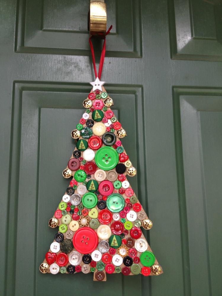 so können sie einen weihnachtskranz selber basteln - 50 ideen, Innenarchitektur ideen