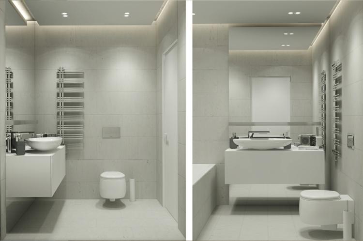Archiplastica Moderne Inneneinrichtung It Apartment Moderne Badezimmer  Moebel Wohnungseinrichtung ...