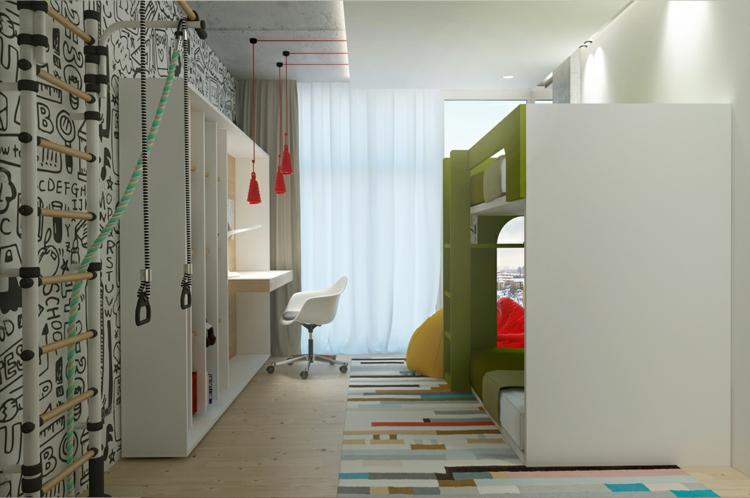 archiplastica moderne inneneinrichtung kinderzimmer it apartment