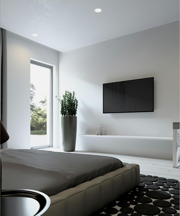 Wohnungseinrichtung im skandinavischen stil von archiplastica for Minimalistische wohnungseinrichtung
