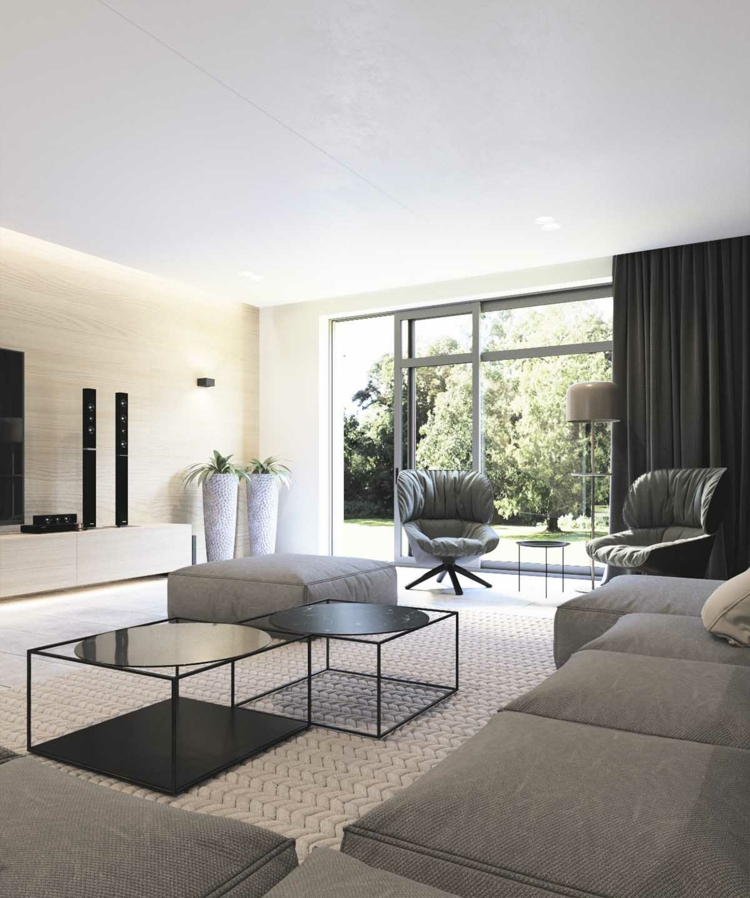 archiplastica stoyanka moderne inneneinrichtung wohnzimmer