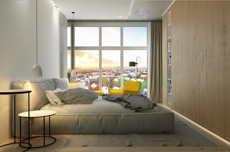 wohnungseinrichtung im skandinavischen stil von archiplastica. Black Bedroom Furniture Sets. Home Design Ideas