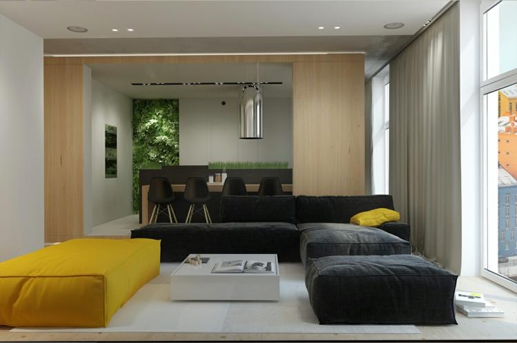 Archiplastica Wohnungseinrichtung It Apartment Wohnzimmer Skandinavisches Design