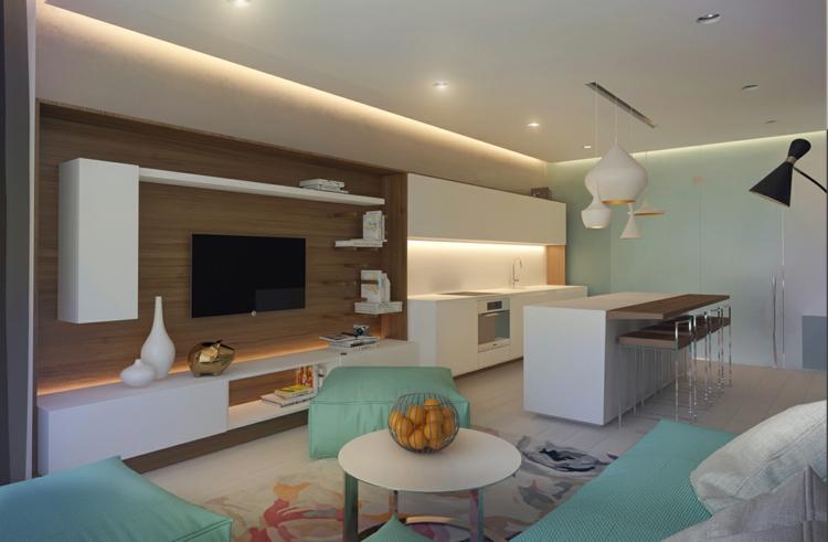 Wohnungseinrichtung im skandinavischen stil von archiplastica for Design wohnungseinrichtung