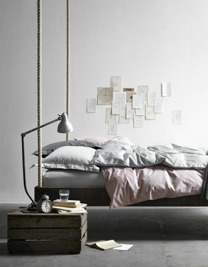 Ausgefallene betten holz  22 ausgefallene Betten Ideen für Ihr stilvolles Schlafzimmer