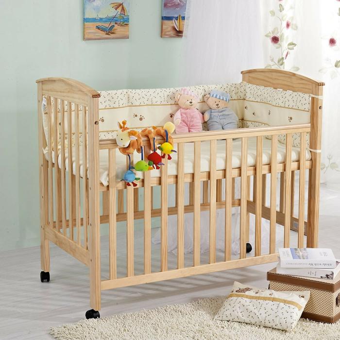 babybet kaufen tipps räder frisches babyzimmer gestalten