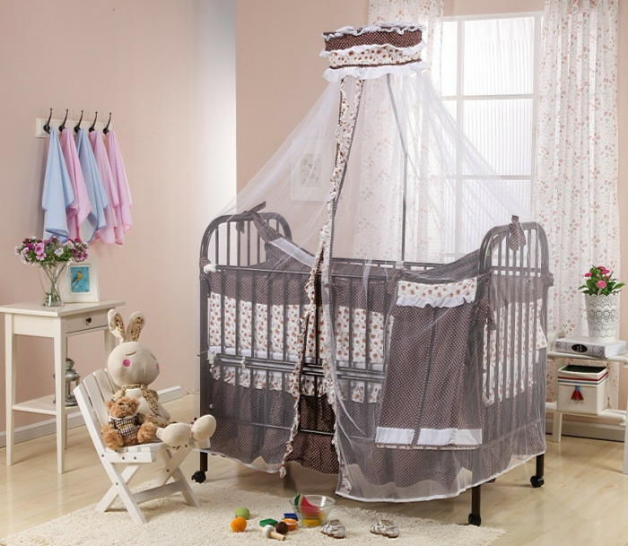 babybett betthimmel inspiration design familie traumhaus. Black Bedroom Furniture Sets. Home Design Ideas