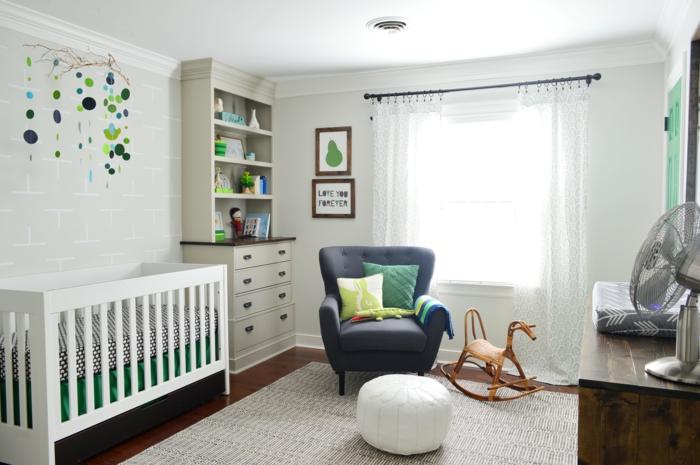 babybetten design matratzen babyzimmer gardinen dekokissen