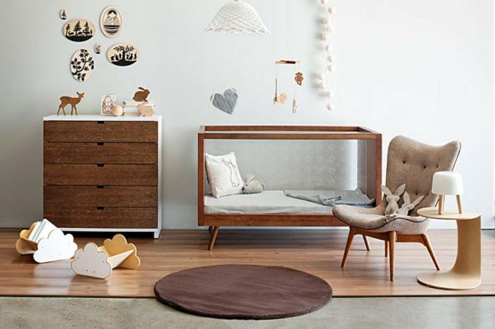 babybetten designs modern retro look mobiliar babyzimmer