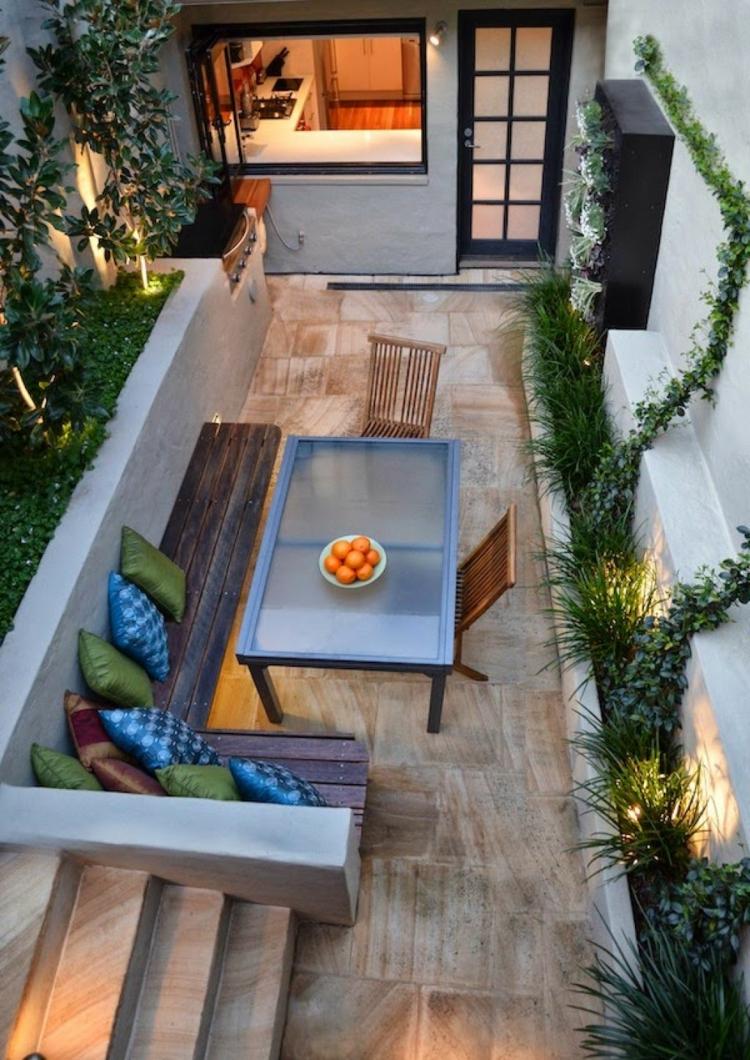 balkonideen kleiner balkon gestalten platzsparende balkonmöbel für kleinen balkon