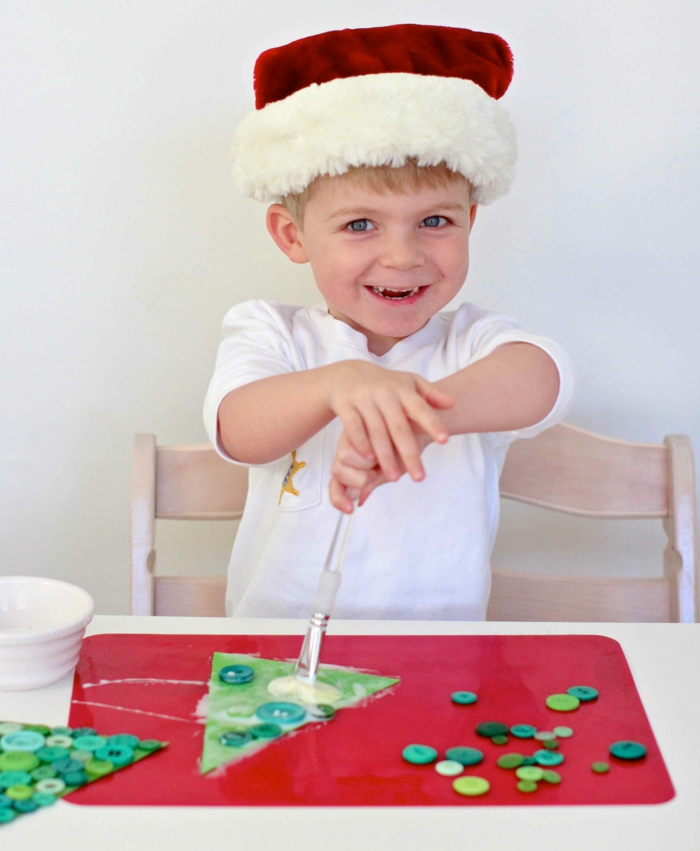 bastelideen weihnachten kinder basteln dekoideen weihnachen