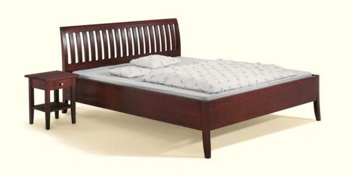 bett mit matratze und lattenrost eto massivholzbett