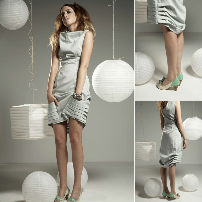 bio kleidung elegante damenmode abendkleid