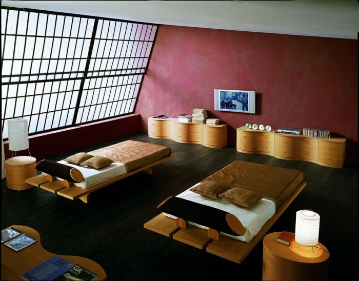 bio möbel schlafzimmer öko mobiliar japanisches design furnitusa