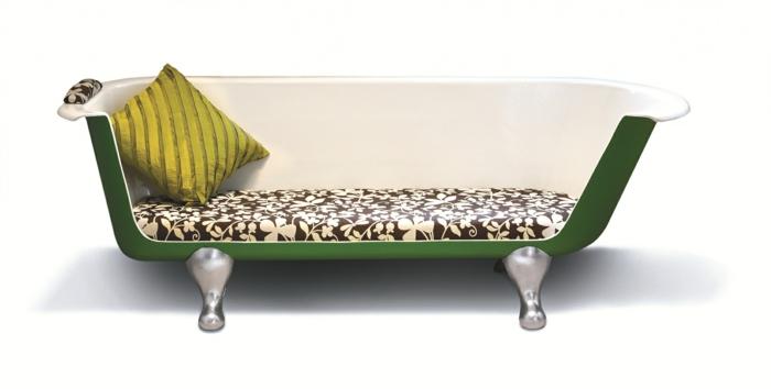 bio möbel upcycling sofa alte badewanne