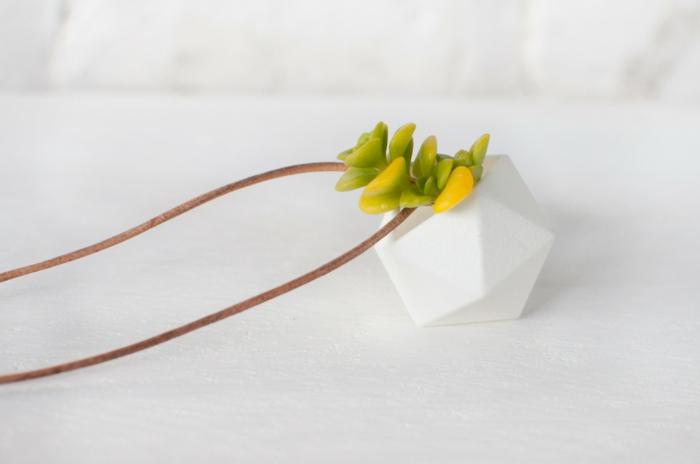 pflanzkübel zimmerpflanzen mini pflanzgefäße halsanhänger