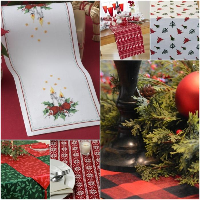 35 tischl ufer f r weihnachten mehr als gr n rot und gold. Black Bedroom Furniture Sets. Home Design Ideas