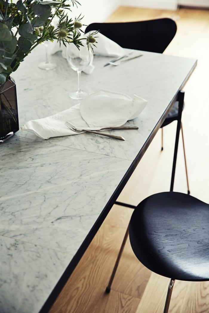 dänisches design skandinavisch wohnen esstisch stuhl
