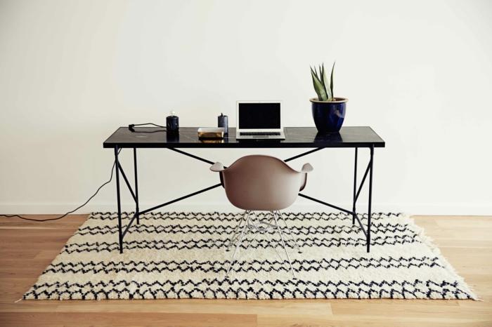 dänisches design skandinavisch wohnen schlicht funktional schreibtisch tisch
