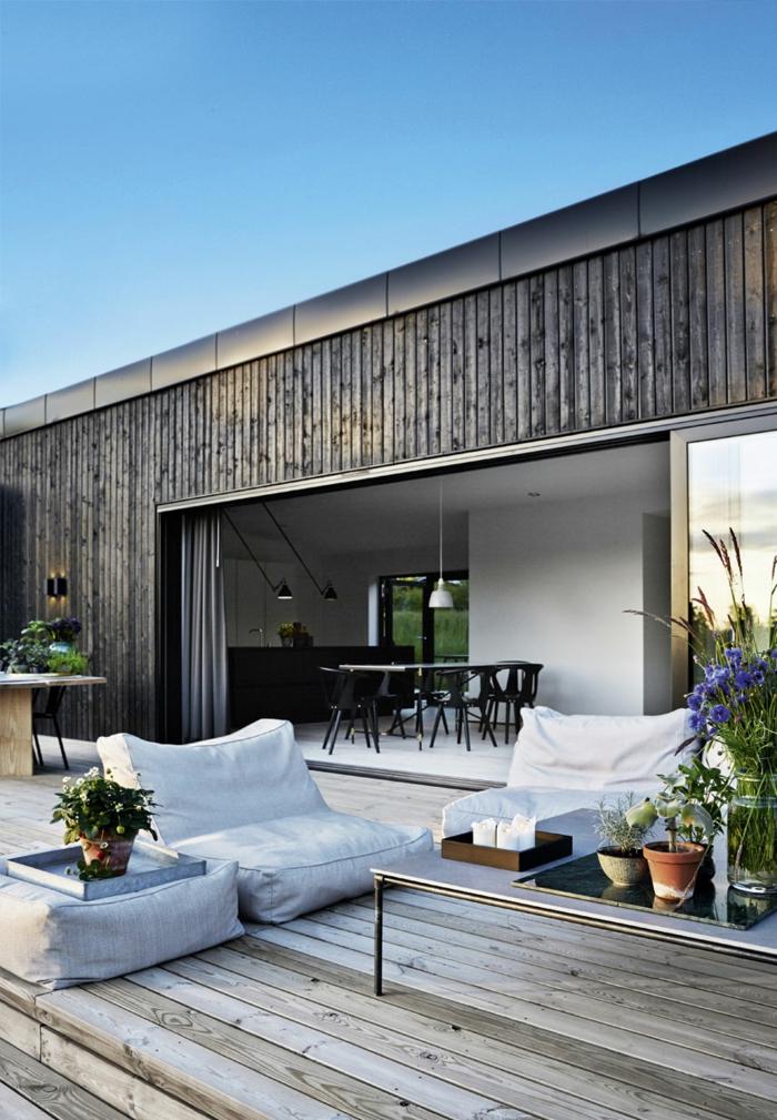 dänisches design skandinavische möbel emil thorups sommerhaus terrasse
