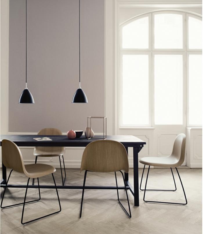 dänisches design skandinavische möbel esszimmer esstisch stühle gubi