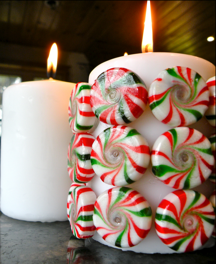 dekoideen weihnachten bastelideen weihnachten kerzen wohnideen