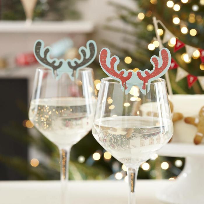 dekoideen weihnachten tischdeko ideen gläser dekorieren