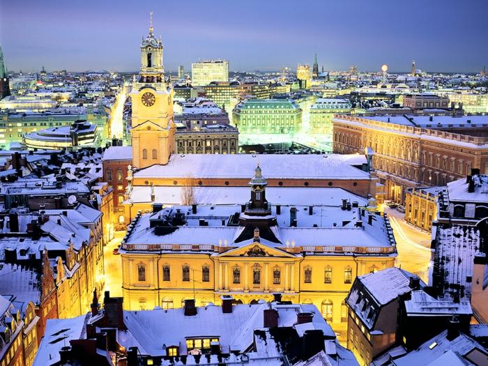 die schönsten weihnachtsmärkte stockholm in der nacht