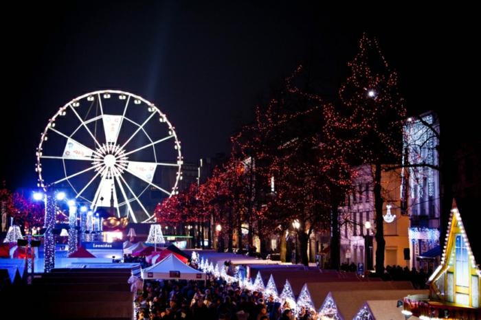 die schönsten weihnachtsmärkt marktplatz brussel
