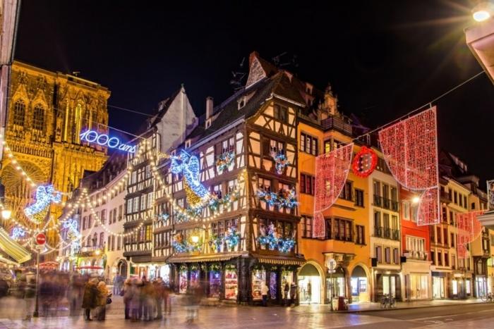 die schönsten weihnachtsmärkte strasburg marktplatz strassenschmuck