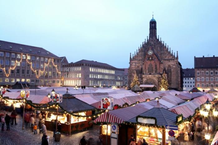 die schönsten weihnachtsmärkte strasburg marktplatz vien nuernberg