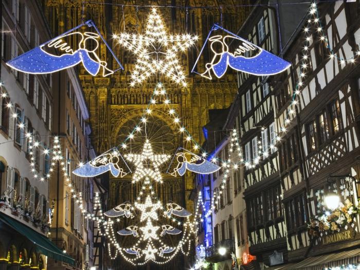 die schönsten weihnachtsmärkte weihnachtsschmuck strassbourg frankreich sterne