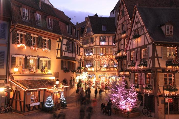 die schönsten weihnachtsmärkte weihnachtsschmuck frankreich