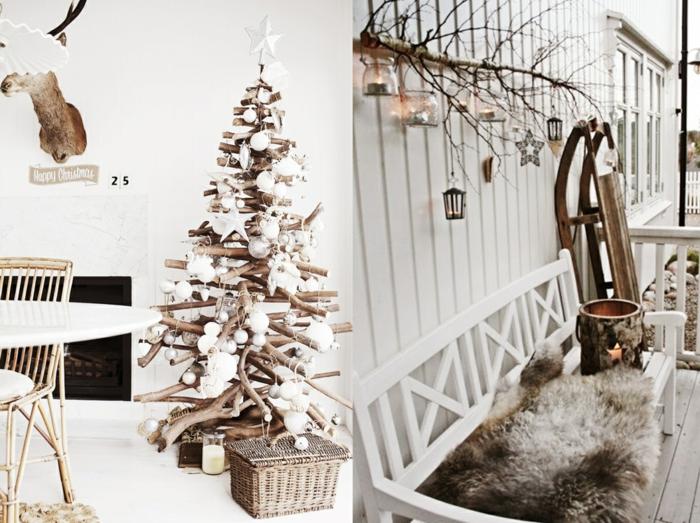 Dekoration wohnung selber machen weihnachten  Deko Mit Holz Selber Machen | badezimmer & Wohnzimmer