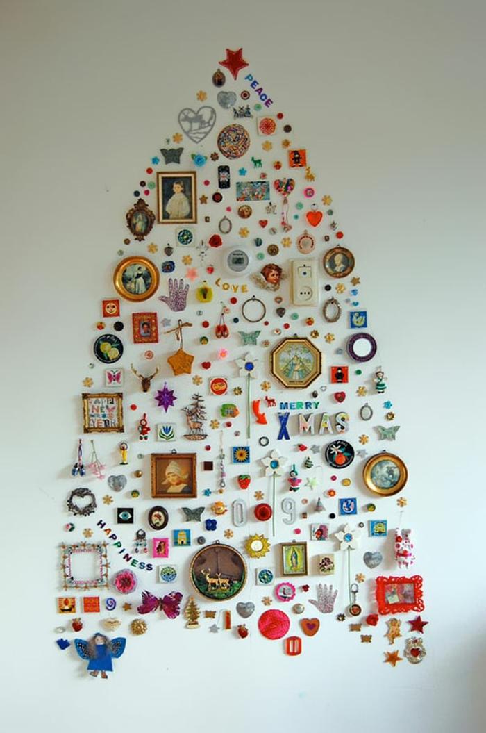 diy deko ideen weihnachten adventszeit weihnachtsbaum selber basteln