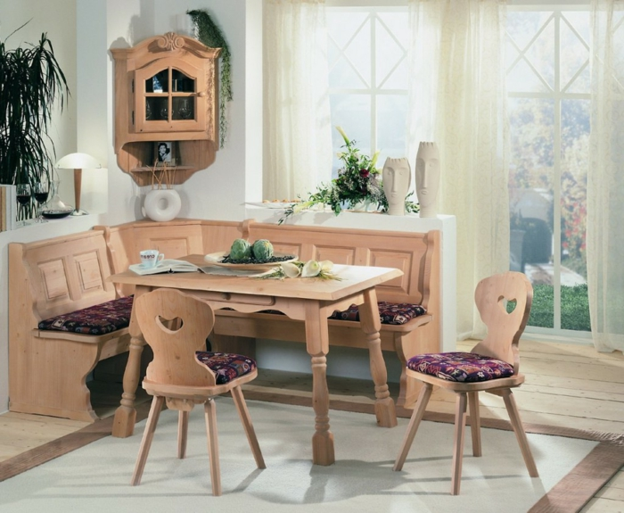 Eckbank Küche Gestalten Ideen Eckschrank Teppich