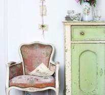 shabby chic möbel sorgen für eine dramatische wohnungseinrichtung - Deko Kommode Wohnzimmer