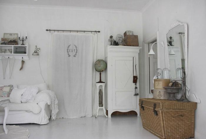 einrichtung wohnzimmer shabby shic wohnzimmer möbel flechtmöbel