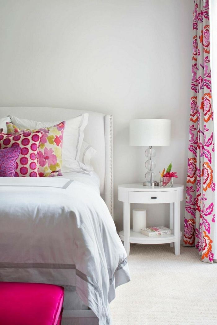 einrichtungsideen schlafzimmer frische akzente helles interieur