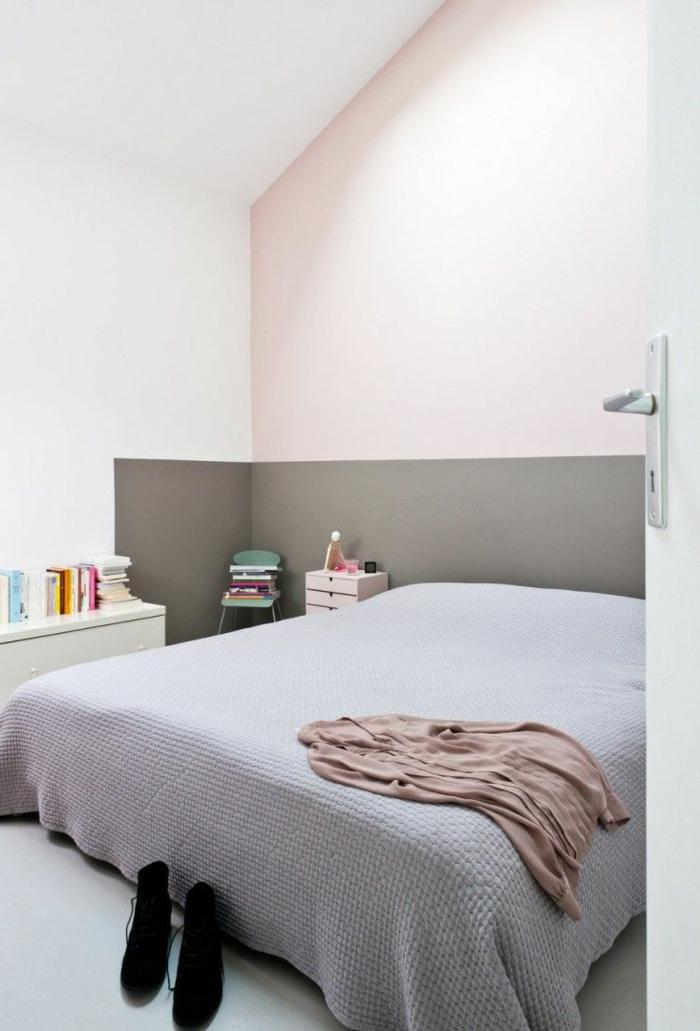 einrichtungsideen schlafzimmer pastellnuancen mildes innendesign