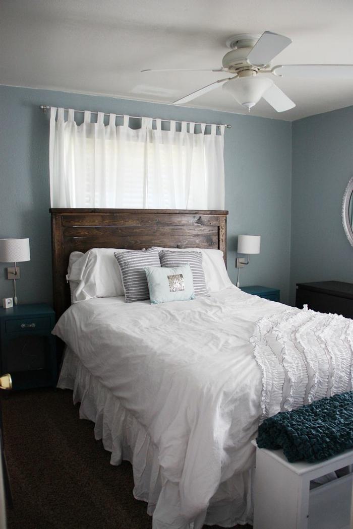 einrichtungsideen schlafzimmer weiße bettwäsche romantische ausstrahlung