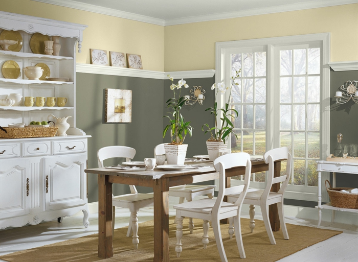 Country Style Kitchen Table Sets
