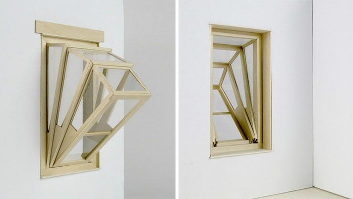 fensterbau architekten ideen kleine wohnung