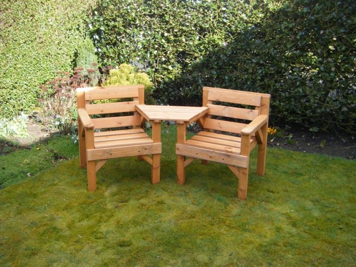 Gartensessel holz  Gartensessel Holz und andere Sitzmöbel für den Außenbereich