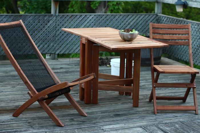 Outdoorküche Klappbar Holz : Gartensessel holz und andere sitzmöbel für den außenbereich