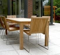 Gartensessel aus Holz und andere Sitzmöbel für den Außenbereich