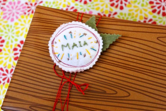 geschenke verpacken geschenk verpacken geschenke schön verpacken geschenk biene braun gruen-bunt